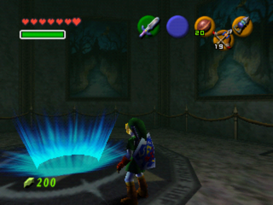 Legend of Zelda: Ocarina of Time running in ParaLLEl.